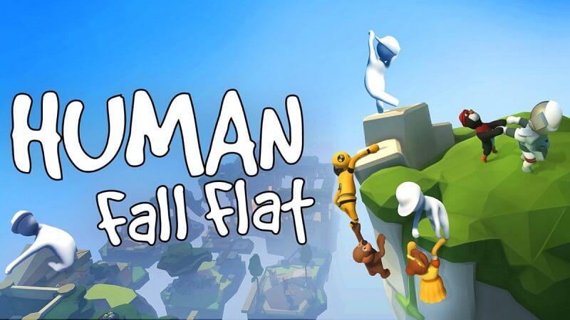 4. Human: Fall Flat - Game co-op giải đố vui nhộn