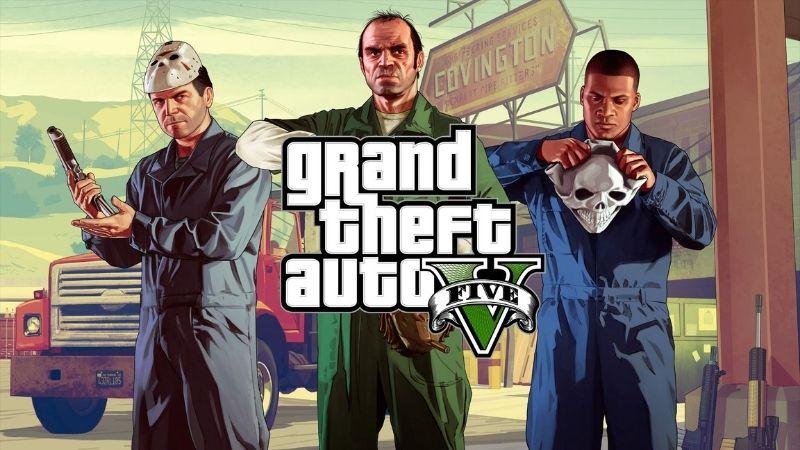 Grand Theft Auto V - Siêu phẩm game góc nhìn thứ 3 đỉnh nhất của dòng game GTA