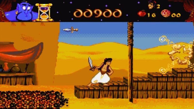 Disney's Aladdin - game hay lấy ý tưởng từ phim hoạt hình.