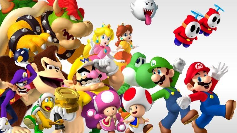 Super Mario - series game Nhật nổi tiếng nhất