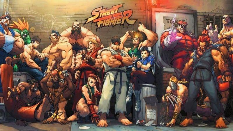 Series game đối kháng Street Fighter