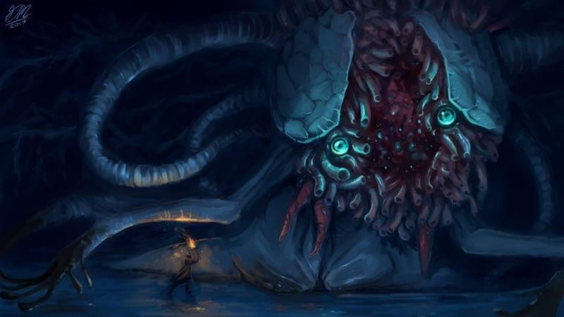 Ebrietas, Daughter of the Cosmos – quái vật đáng sợ trong game Bloodborne