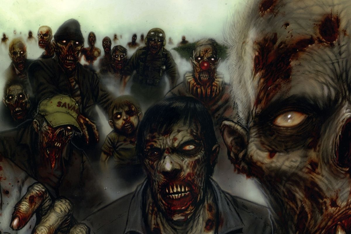 zombie kinh dị trong game