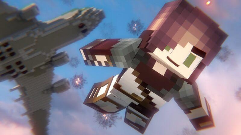 Minecraft Battle Royale - Game Battle Royale đầu tiên trên thế giới