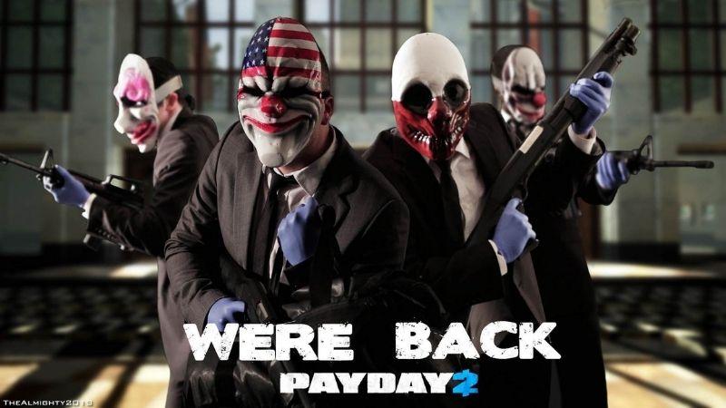 PAYDAY 2 - Game FPS hay nhất trong dòng game tội phạm