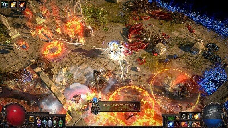 Path of Exile - Tựa game vay mượn Diablo II