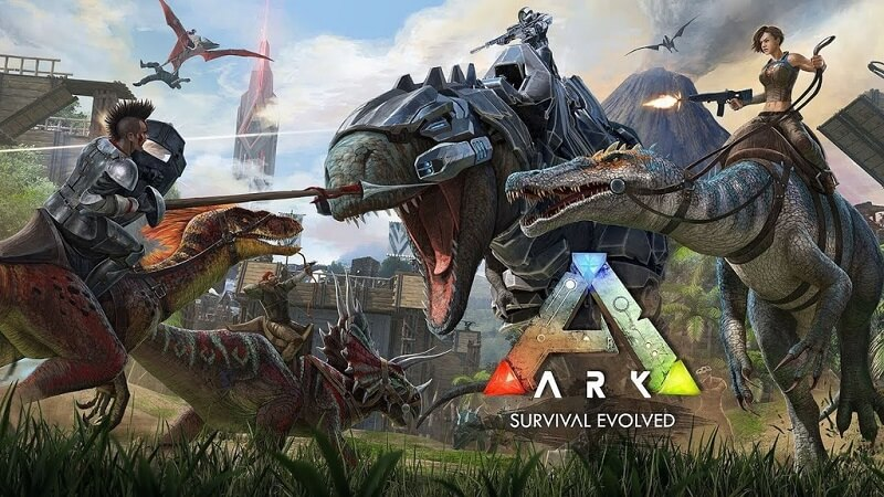 ARK: Survival Evolved - Game sinh tồn mobile thời kỳ khủng long