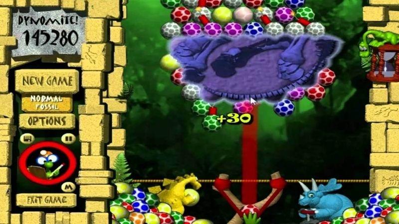 Bắn trứng khủng long - Game văn phòng kinh điển