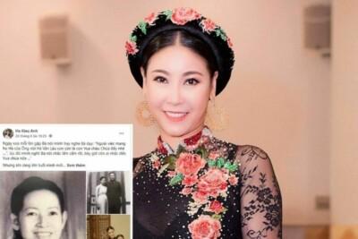 Hà Kiều Anh tự nhận là công chúa nhà Nguyễn