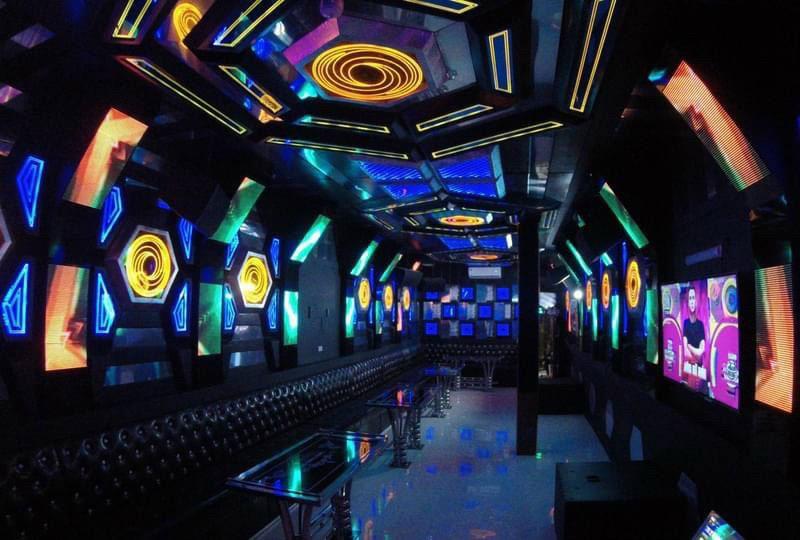 Không gian quán Karaoke Thu Hằng