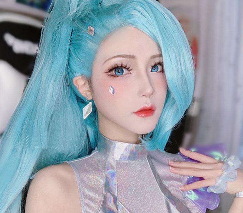 Bộ ảnh cosplay Seraphine làm nên tên tuổi Yuji Koi 3