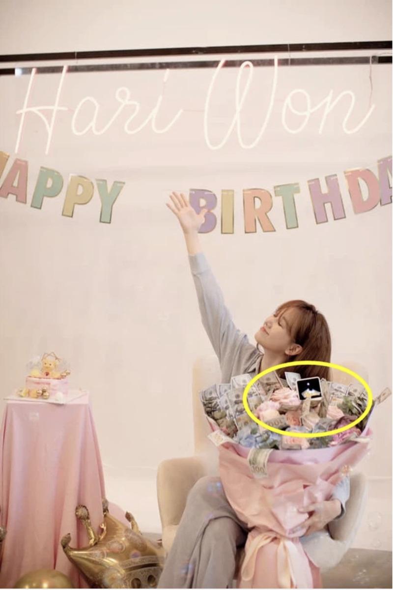 Hari Won đang mang thai đúng không