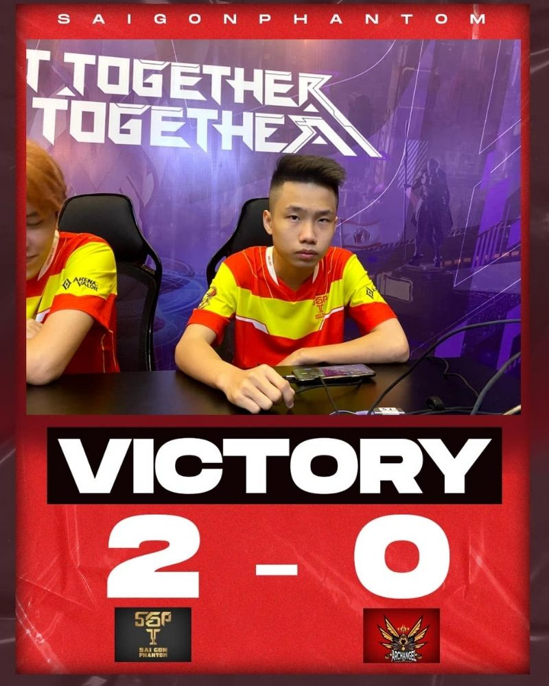 AWC 2021 vòng bảng: SGP vs ARC - Chiến thắng dễ dàng cho Saigon Phantom