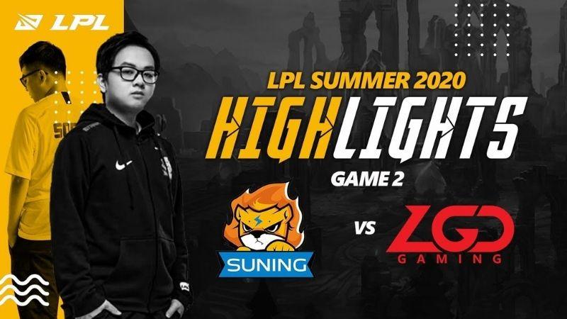 Suning vs LGD - Loạt Bo3 nảy lửa nhất ngày 27/6