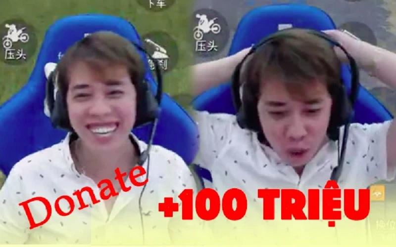 Nam Blue được donate 100 triệu