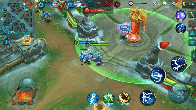 Gameplay của Mobile Legends