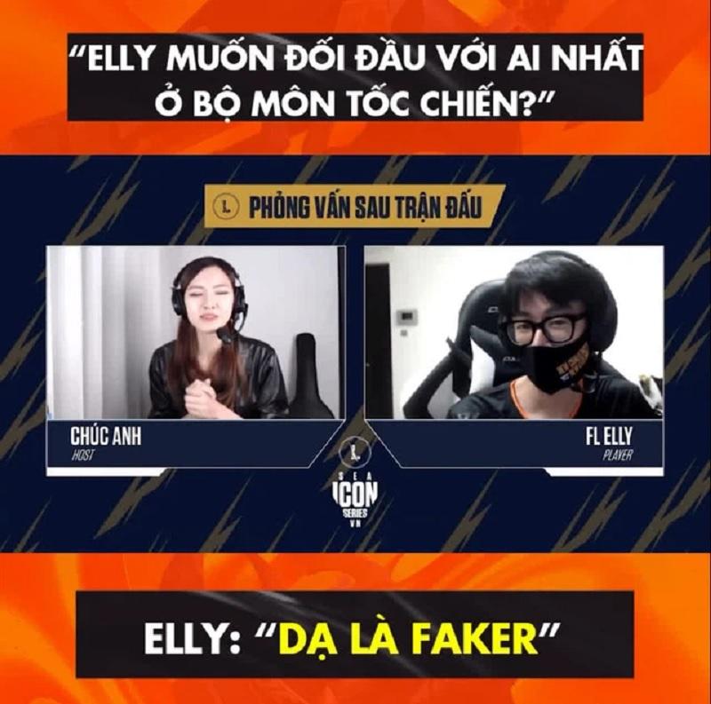 Pro E phát ngôn liên quan đến Elly