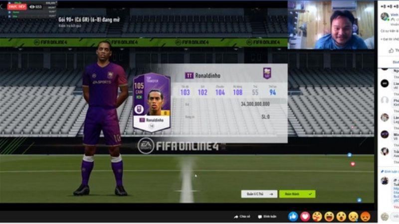 Vinh Râu chơi FIFA