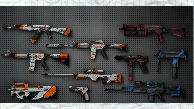 Hệ thống vũ khí đa dạng với nhiều loại skin