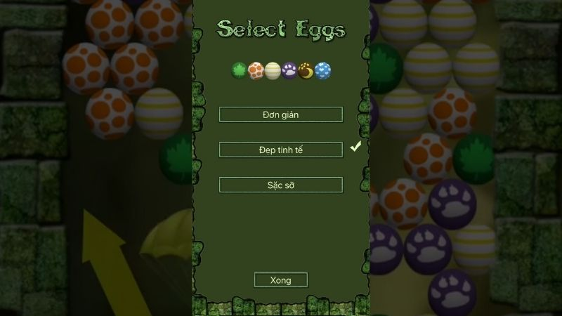 Đánh giá về đồ họa và âm thanh của game Egg Shoot