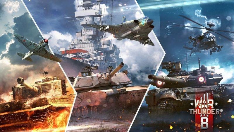 War Thunder - Game chiến tranh toàn diện nhất