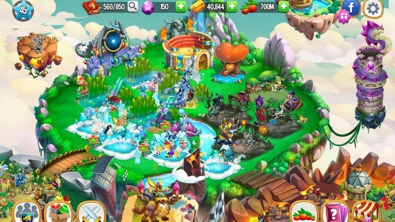 Xây dựng đảo trong Dragon City - Các tính năng nổi trội khác