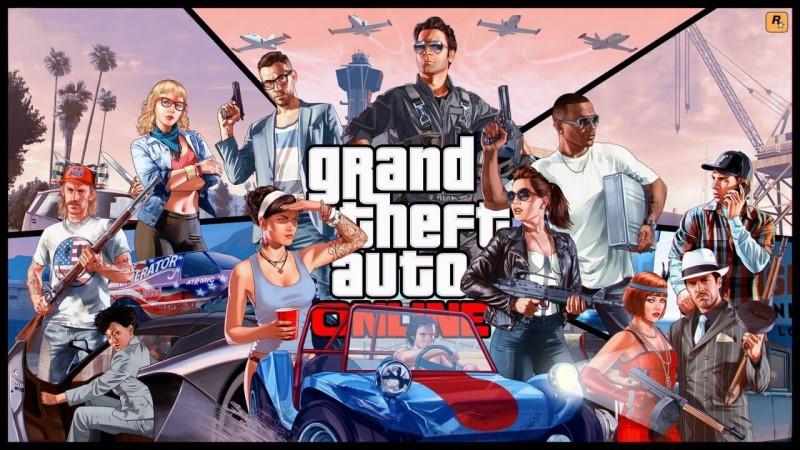 Chơi cùng bạn bè với GTA Online 5