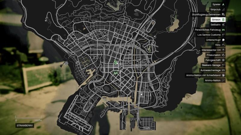 Điểm nổi bật của Grand Theft Auto V - Bản đồ thế giưới mở rộng lớn