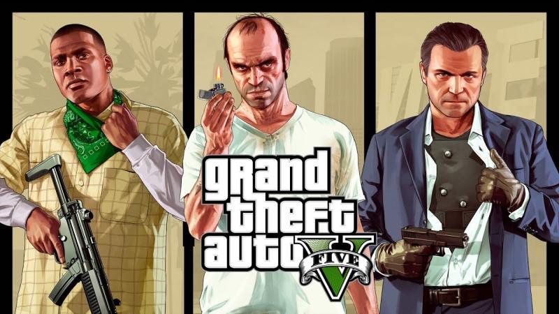 Các nhân vật chính trong grand theft auto V