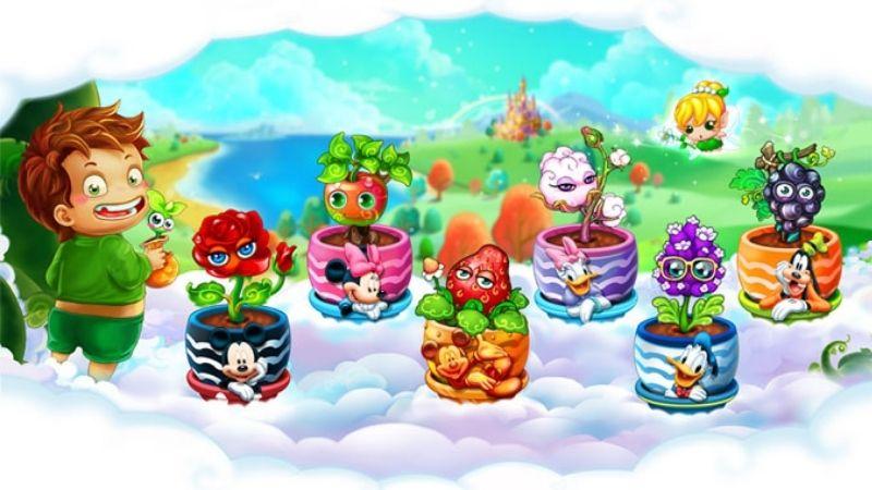 Giới thiệu về game Khu Vườn Trên Mây