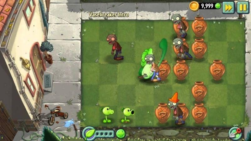 Plants vs Zombies 2 VaseBreaker