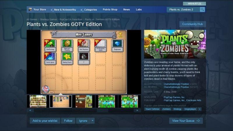 Cách tải game PvZ trên PC