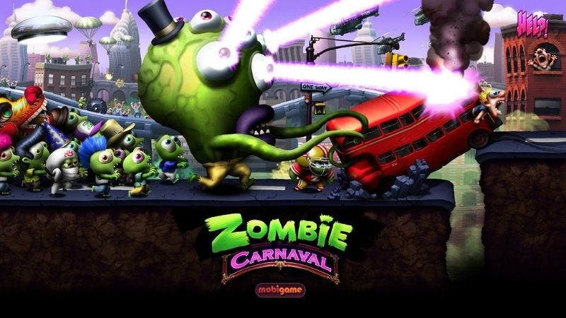 Giới thiệu về game Zombie Tsunami