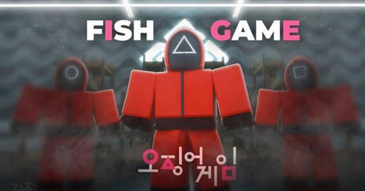 Fish Game - Trò chơi sinh tồn tương tự Squid Game trong Roblox