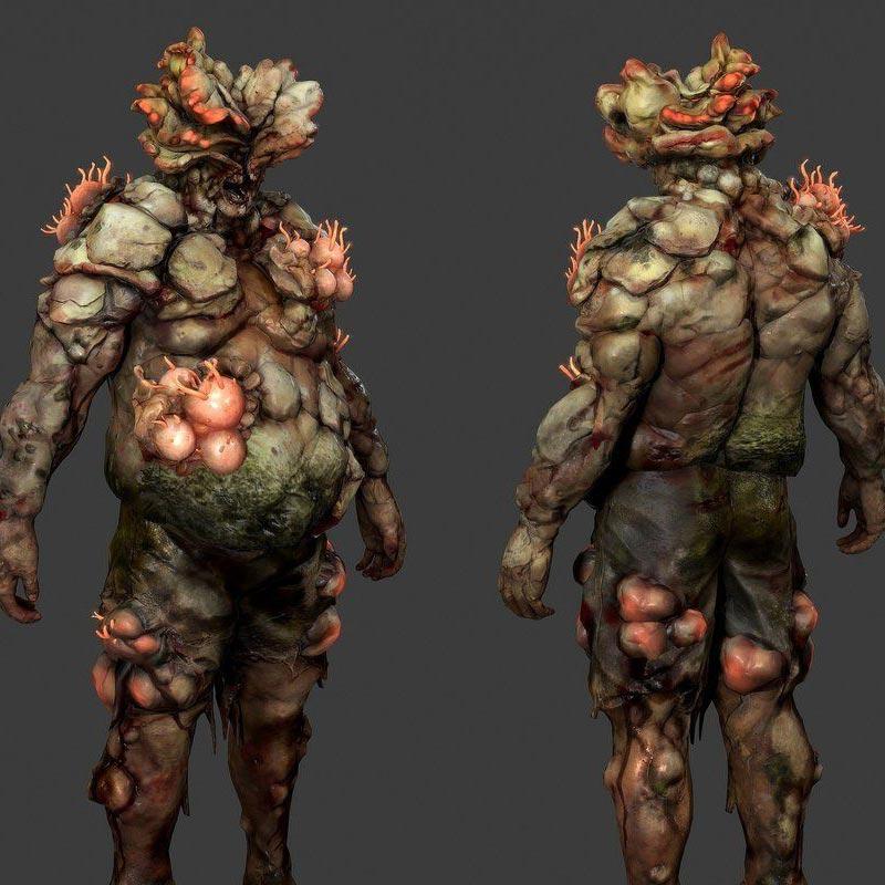 Tạo hình xác sống trong bản game gốc