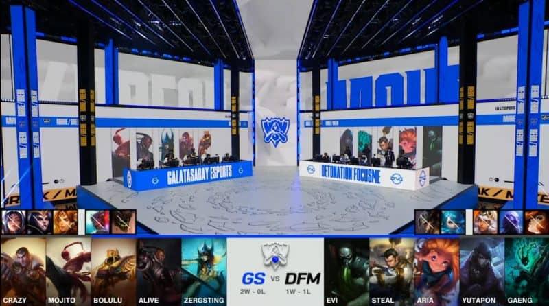 Trận đấu giữa GS và DFM
