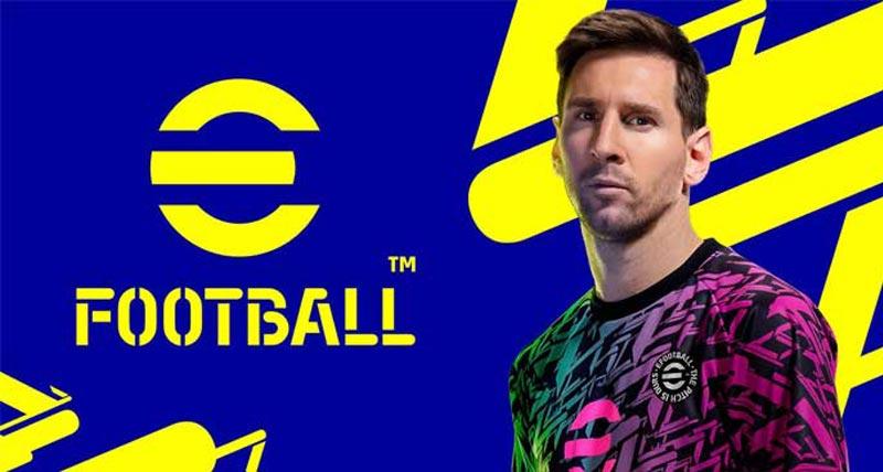 Hình ảnh eFootball được quảng bá