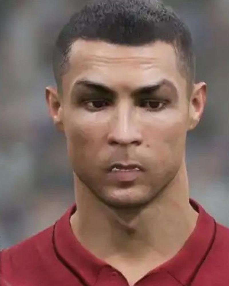 Chẳng thể nhận ra Ronaldo