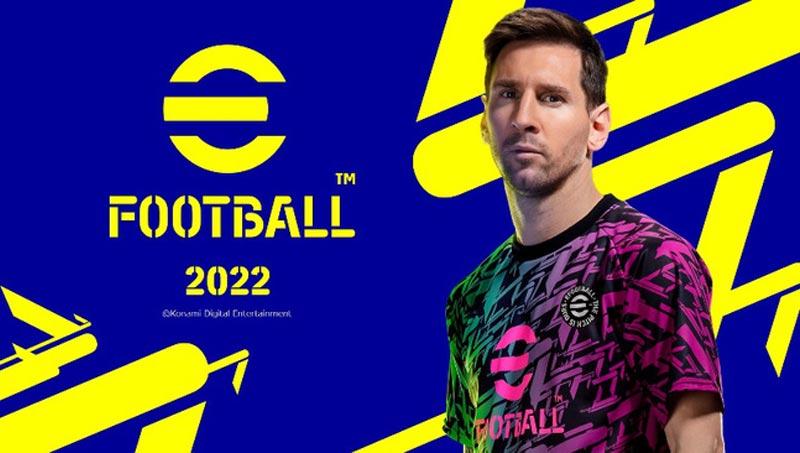 Hình ảnh quảng cáo của eFootball