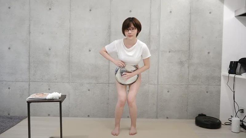 Eimi thử thách cởi quần không lộ