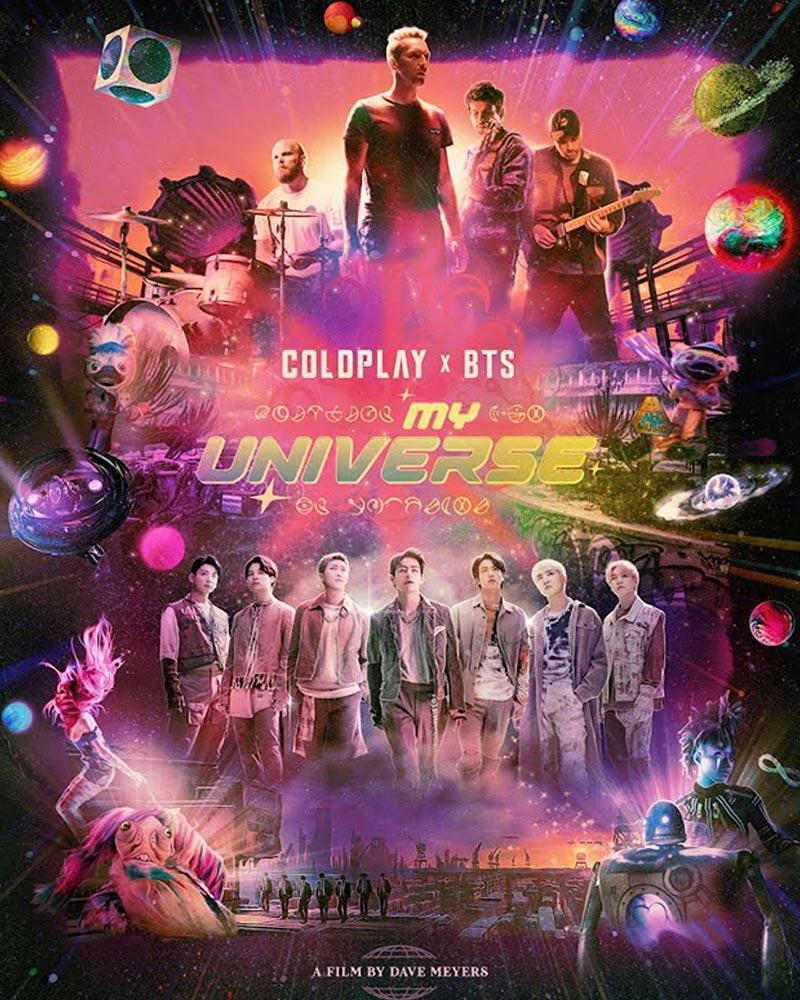 MV My Universe của Coldplay x BTS