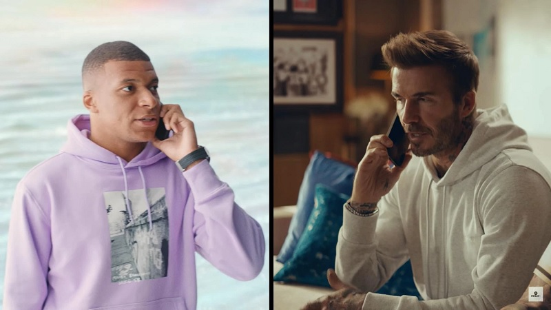 trailer FIFA 22 có David Beckham, Kylian Mbappe