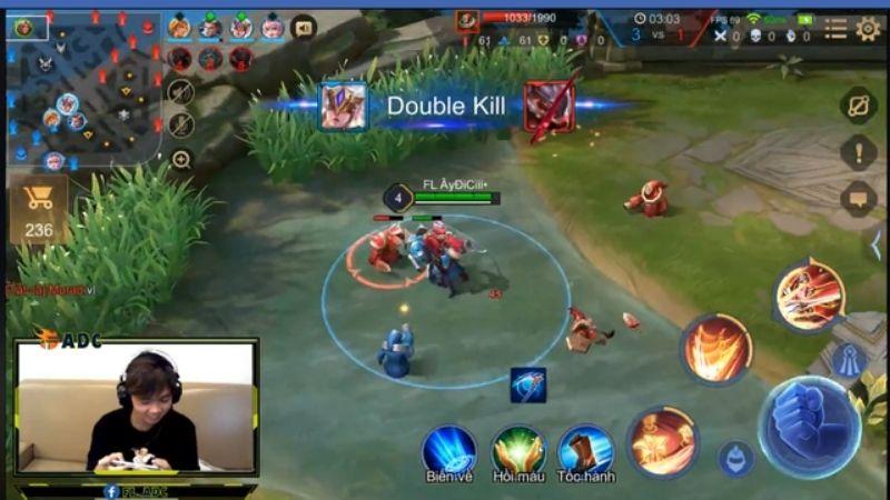 Giành Double Kill khi sử dụng hack
