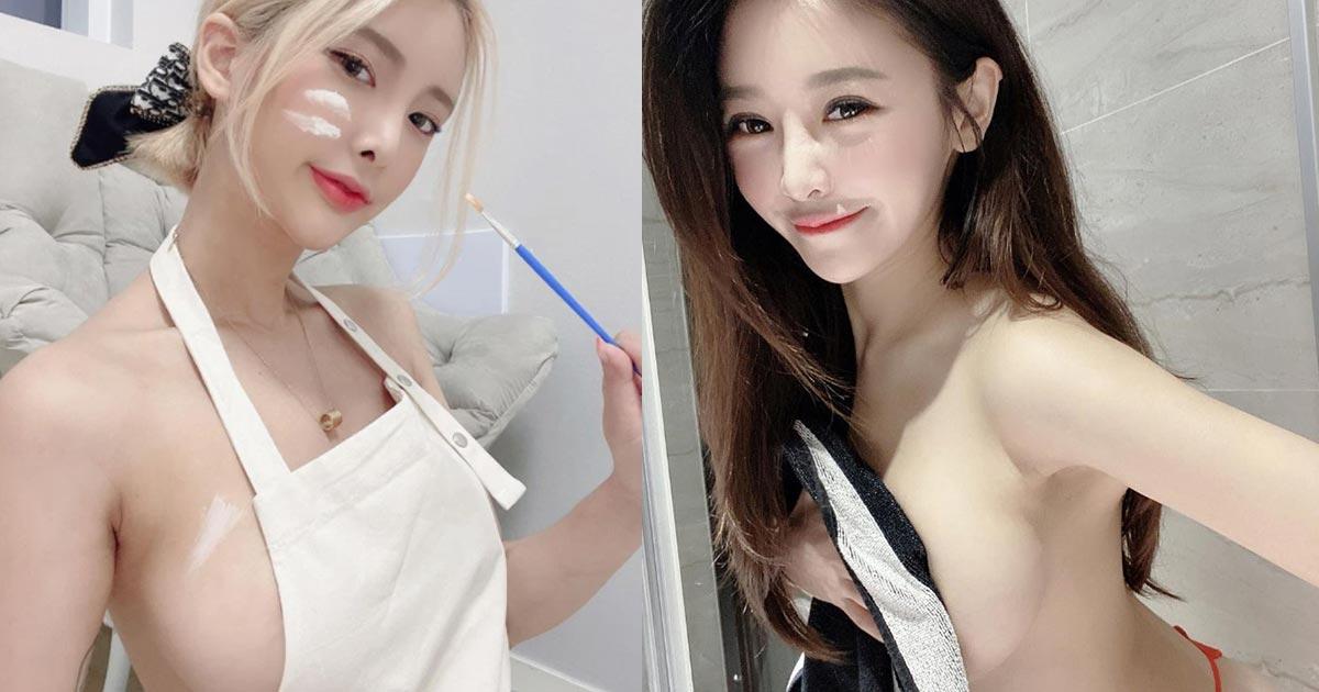 3 Pha lộ hàng khó đỡ của các hot girl xinh đẹp ngực khủng