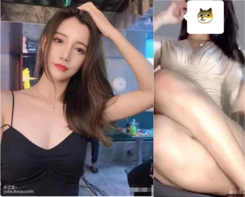 """nữ streamer """"XiaoLuo"""" lộ hàng lồ lộ"""