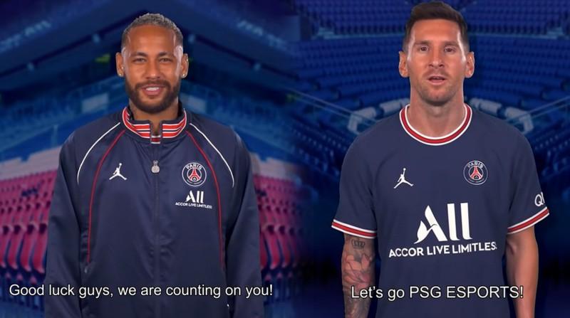 PSG Talon được Messi và Neymar động viên những lời thiết thực