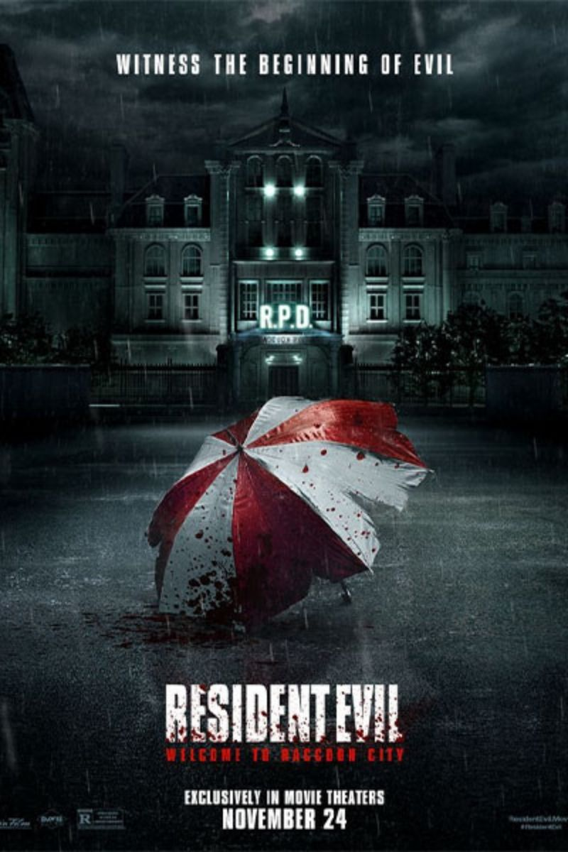 Poster phim Resident Evil: Welcome to Raccoon City