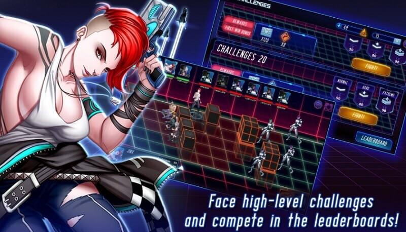 Gameplay đơn giản của Scarlet Crisis