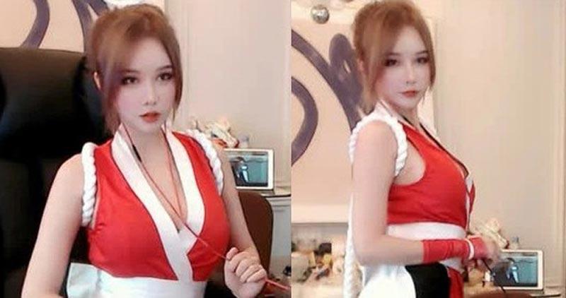 Nữ streamer Trung Quốc xinh đẹp giỏi bắn súng