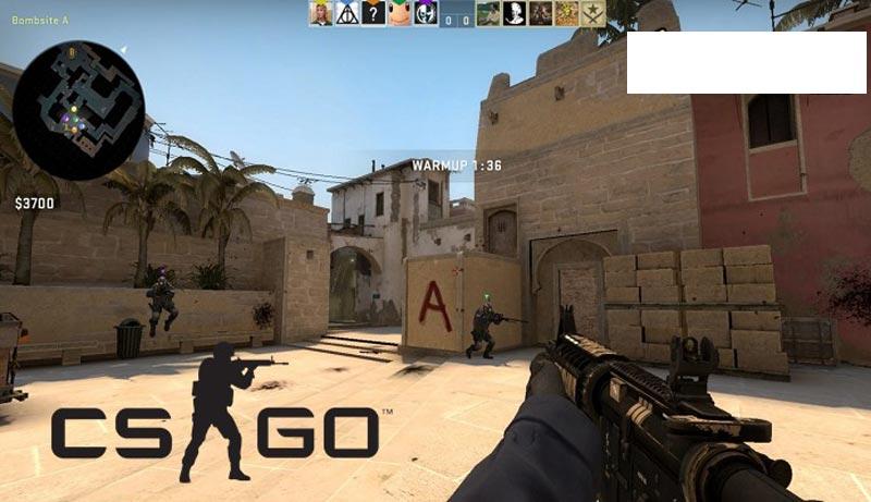 Game bắn súng CS:GO nổi tiếng giới streamer